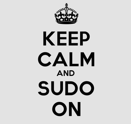 Keep Calm Sudo On